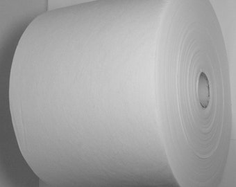 """8"""" x 20 yards Tear-Away Embroidery Stabilizer Backing Medium Weight"""