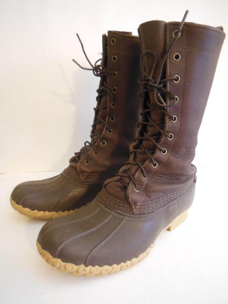 cf1a4149636d5 L.L.Bean, Men's Sz. 7M, Maine Hunting Shoe Boots, 12