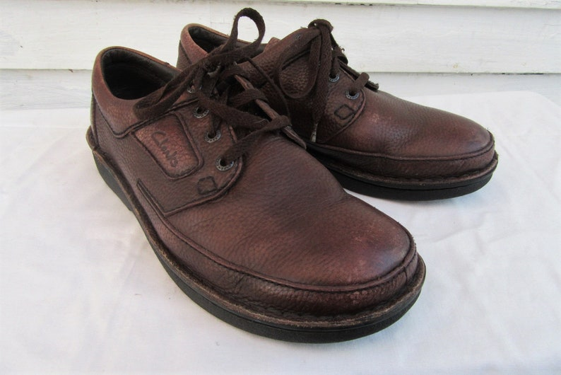 7f2ae211f Vintage Clarks Shoes leather shoes by Clarks Men s size
