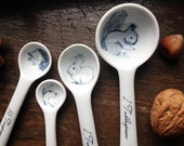 Little Woodland Animals Measuring Spoons