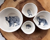Forest Animal Measuring Cups