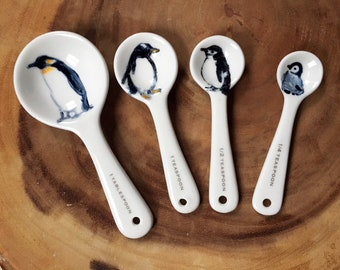Penguin Measuring Spoons