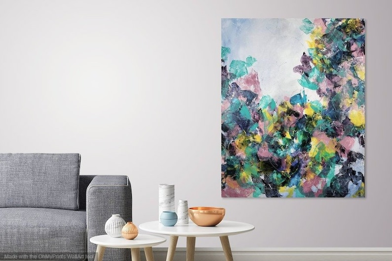 Phenomenal Extra Large Abstract Painting Best Selling Interior Canvas Art Wall Art Big Statement Floral Butterfly Muted Colored Textured Original Pink Home Remodeling Inspirations Gresiscottssportslandcom