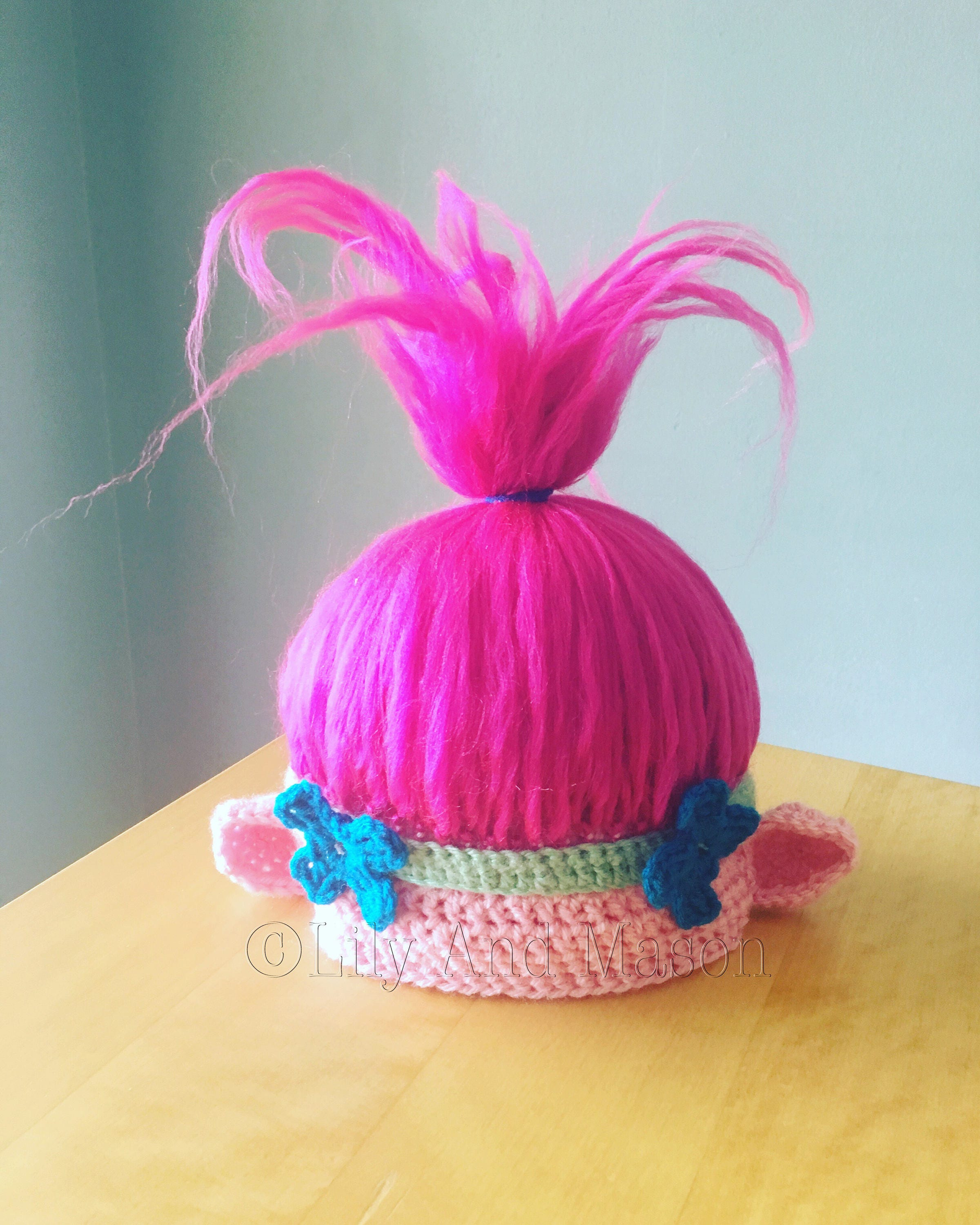 Trolls Crochet Pattern Simple Decorating Design