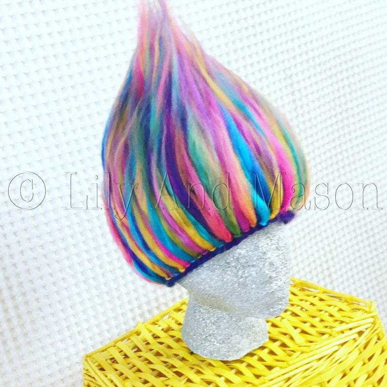 Troll Hat Troll Hair Crochet Pattern Troll Hair Hat Troll  ec3a184cbc8