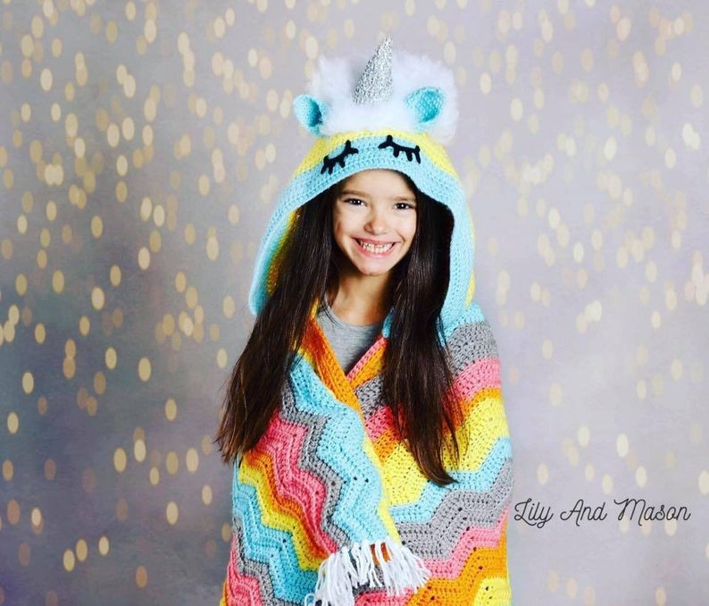 Unicorn Crochet Pattern Rainbow Unicorn Crochet Unicorn image 0