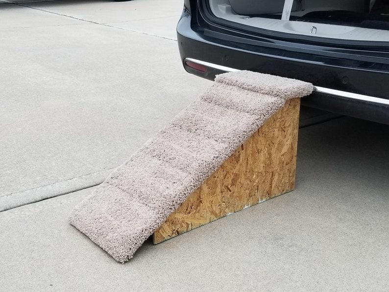 Dog Ramp For Car >> Dog Ramp For Car 18h X 14w X 33l Dog Etsy
