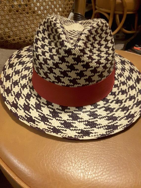 Vintage unisex straw hat