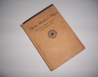 Three Modern Plays 1947 hardcover book