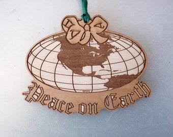 ORNAMENT - Peace on Earth