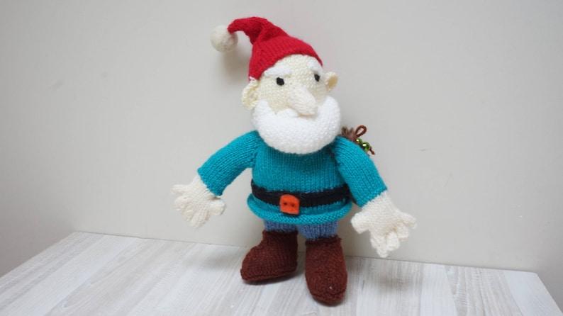 0ac21bab5 Knitted Santa Claus amigurumi doll ready to ship Christmas | Etsy