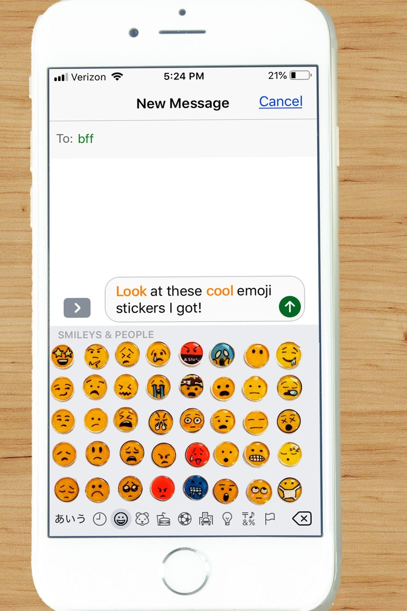 Funny Stickers Sad Sticker and Smile Sticker Emoji Stickers 3D Stickers for Scrapbooking