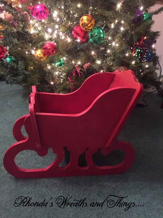 image 0 - Decorative Christmas Sleigh Large