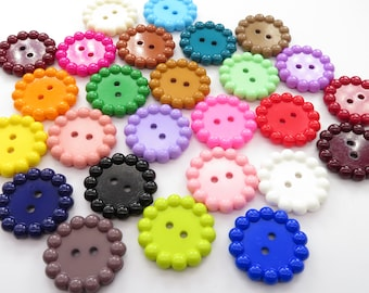 Clear Blue Matching buttons 4 hole Sewing Buttons 1 18 8 Blue Buttons AS 61 Sewing Crafting Jewelry