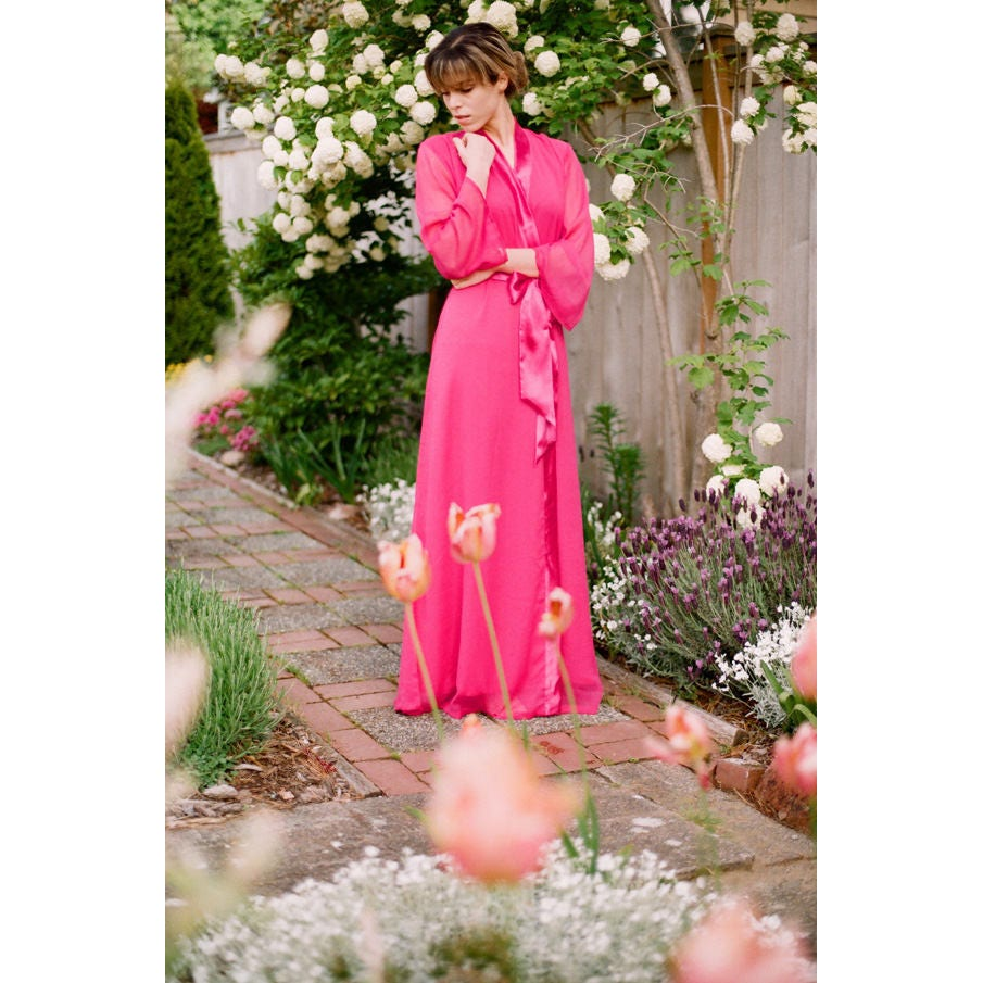 One Custom Astaire Style long robe in lined  214e18252