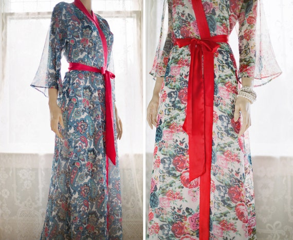 One Custom Astaire Style long robes in lined  fa4f490bf