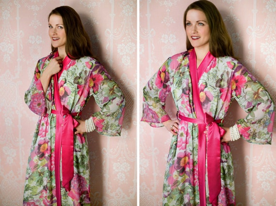 1 custom Astaire Style robe in lined chiffon. Tall  5f3644c8f