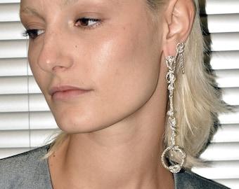 L34 mismatched earrings