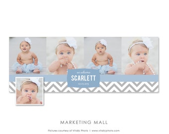 Newborn Facebook Timeline, Facebook Cover Template, Baby Announcement, Timeline Cover Baby, we're expecting, Facebook Baby, Facebook