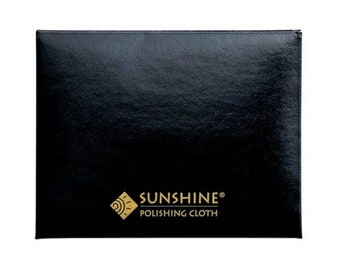 Small Sunshine Cloth for jewelry cleaning and polishing