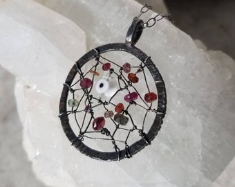 The dreamcatcher pendant