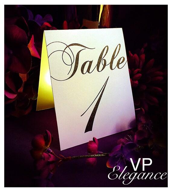 Mariage Table numéros, numéros de Table de mariage de Noël, table autonomes nombre, mariage décoration de table, numéros de table événement