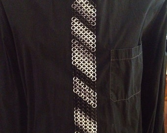 Chainmaille Necktie/ Chain Mail Tie, European 4 in 1 weave