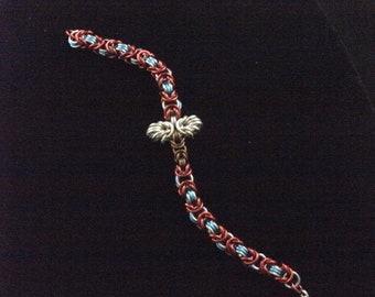 Thor Chainmaille bracelet. Marvel Avenger's inspired