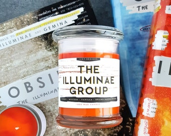 The Illuminae Group // Jay Kristoff and Amie Kaufman 8oz Jar Scented Soy Candle
