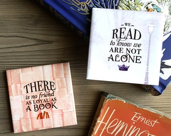 Literary Tiles - Home Decor for Book Lovers