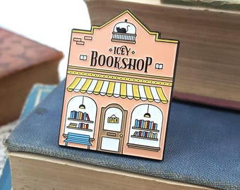 The Icey Bookshop - Bookish Enamel Pin