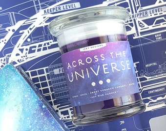 Across the Universe // Beth Revis 8oz Jar Scented Soy Candle