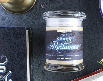 The Grand Reclaimer // The Dark Days Club by Alison Goodman Candle // 8oz Jar Scented Soy Candle