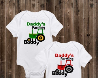 82e72cc51 Daddy's Farming Buddy - Personalized Farming Tractor