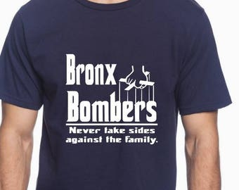 a2224657212589 New York Yankees Shirt - Bronx Bombers Shirt - Yankees Baseball - Godfather  - New York Shirt