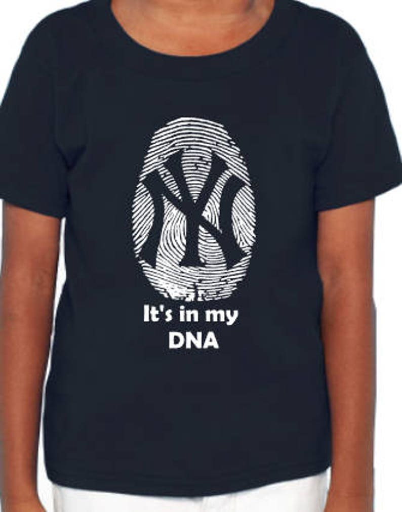 New York Yankees Tshirt It s in my DNA Toddler Yankee Shirt  bda89dd3353