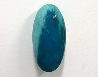 58X20X4 Rare Peruvian Opal Gemstone Cabochon 34 Cts Jewelry Making Cabochon