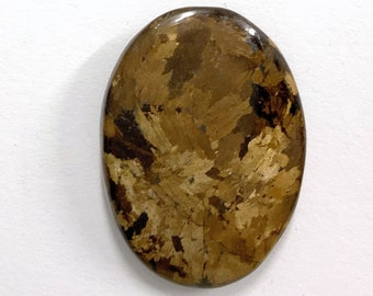 Loose Cabochon Bronzite Cabochon 4Pcs 15x20mm Calibrated Cabochons 6x8mm Cabochon Gemstones Bronzite Oval Cabochon