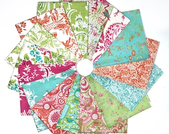 Chinoiserie Collection for Anna Griffin 15 Piece Fat Quarter Bundle