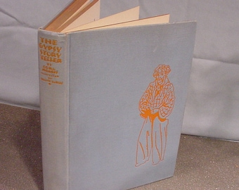 """Hard Cover Book """"Gypsy Story Teller"""" Cora Morris Illustrated by Frank Dobias 1931!"""