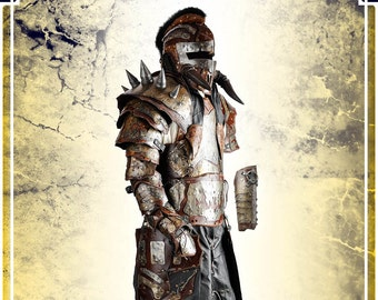 Full Destroyer Armor - Leather and Steel Armor for LARP and Cosplay