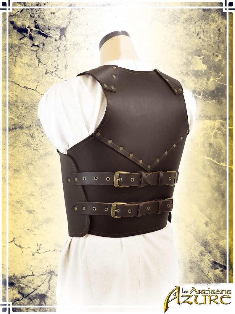 Militiaman Torso Leather Armor for LARP