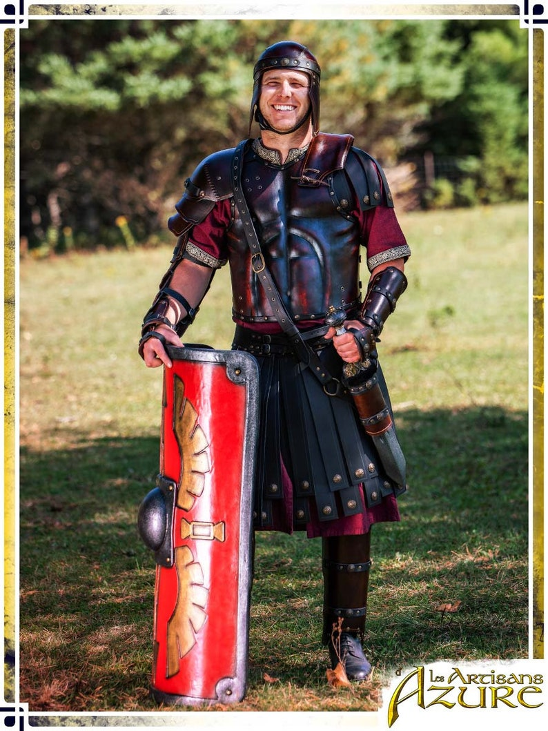 Legion Scabbard LARP Leather Armor