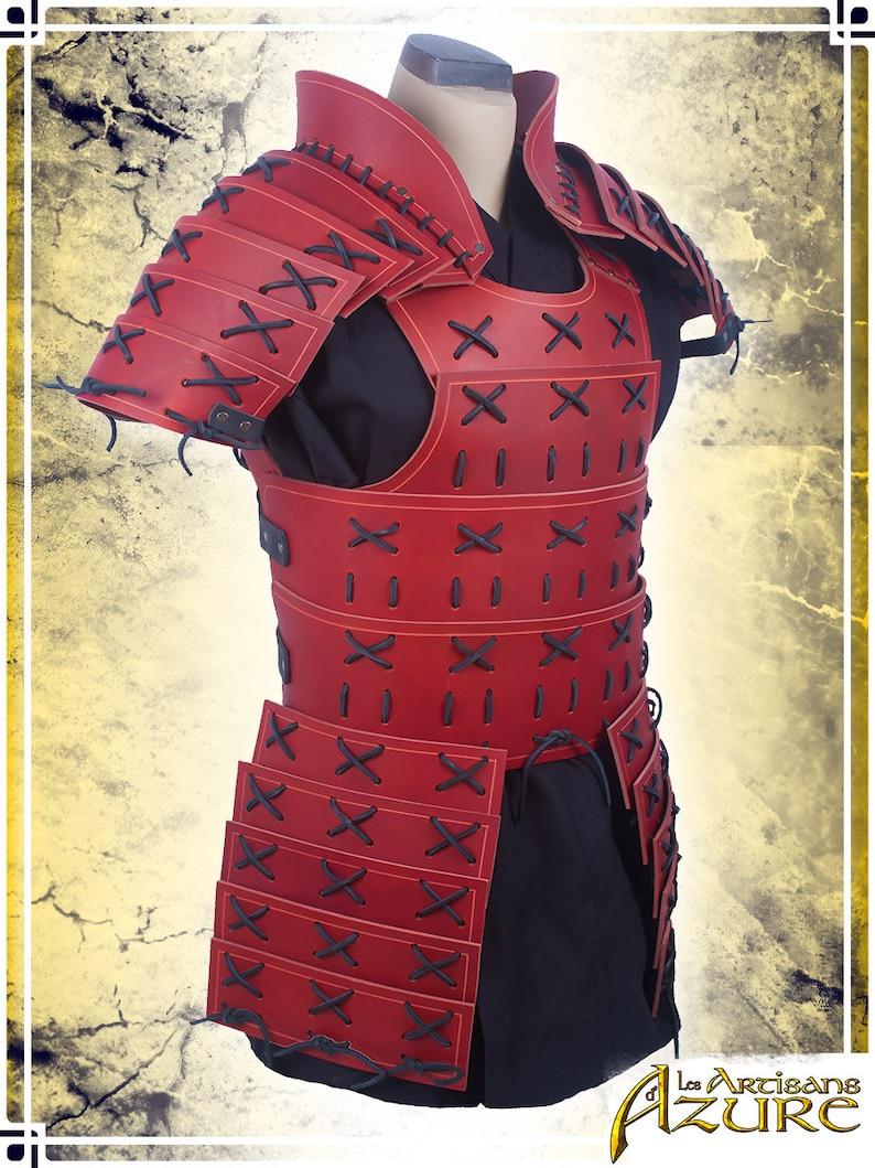 Armure Samurai - Armure de cuir pour Grandeur Nature