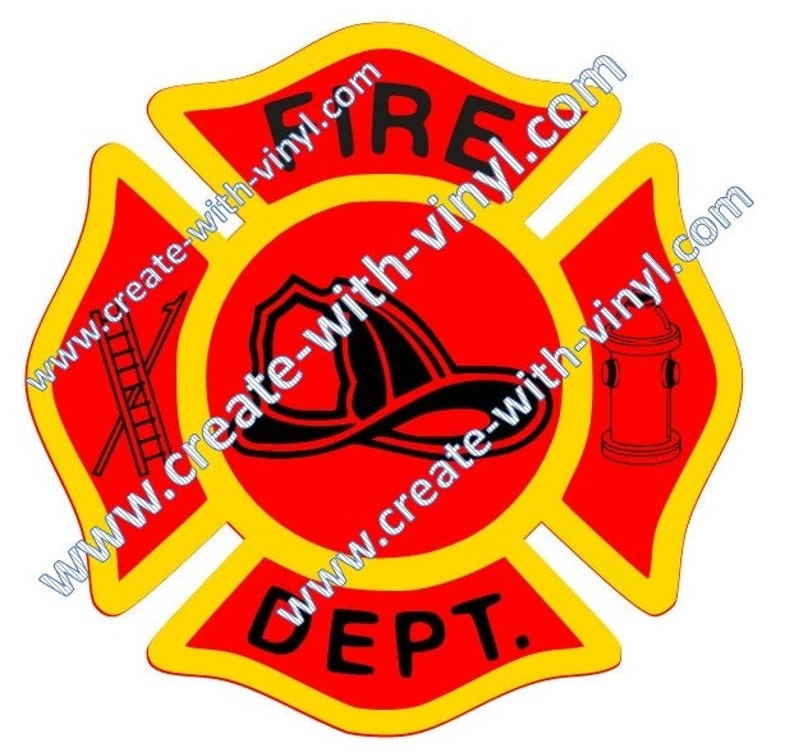 FIRE DEPT firefighter SVG for Cricut, Cameo, Embroidery, svg files