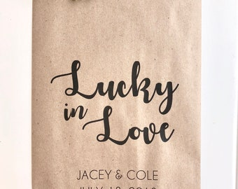 custom lottery ticket favor bags lottery ticket holders bridal shower favor wedding favors set of 25 printed paper bags