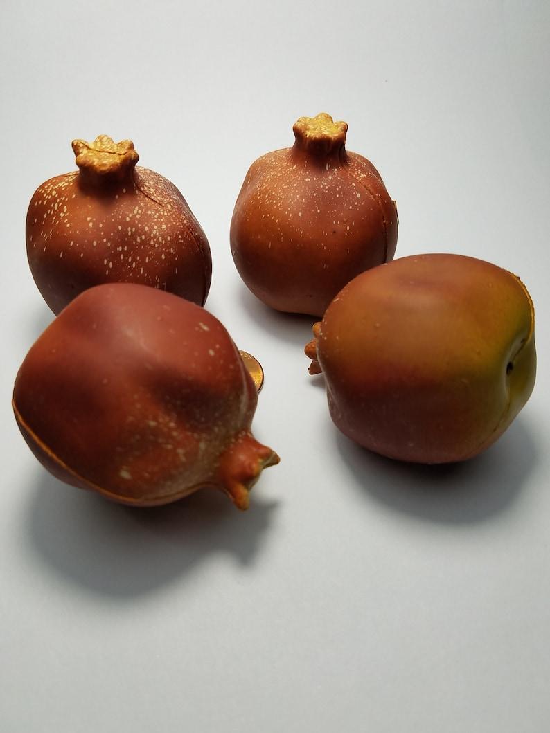 Vintage Artificial Decorative Figs 2 Small Piece Artificial Figs
