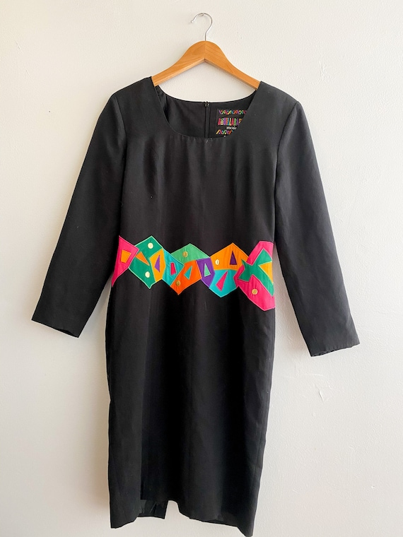 1980's / Late 90's Bouillabaisse Deborah Dress | G