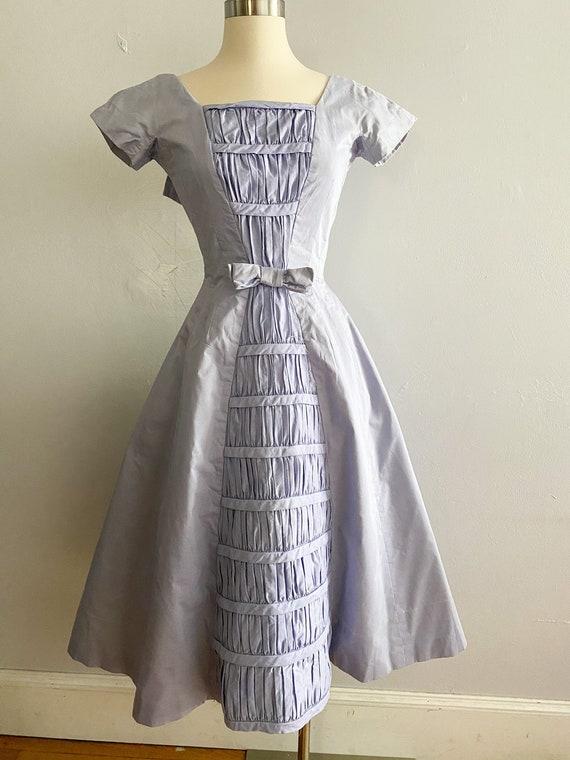 1950's Suzy Perette Vintage Iconic Tuxedo Dress P… - image 4