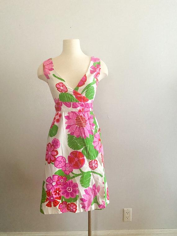 1960's Vintage Hawaiian Mini Dress by Malia Honolu